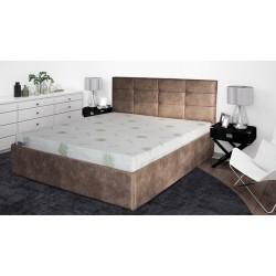 Тапицирана спалня ГАЛАКС 160х200 Бежова