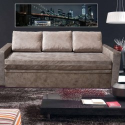 Тапицирано легло-диван 'ГАЛАКС'